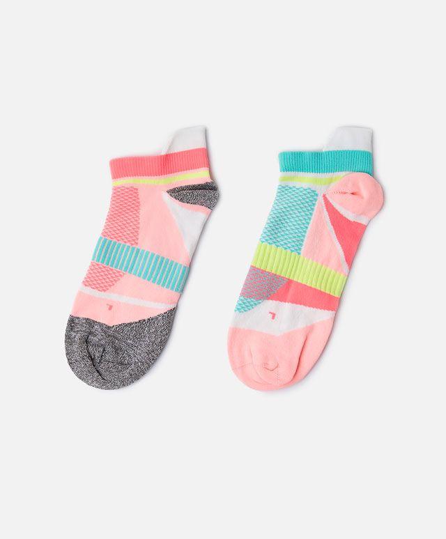 2-pack of neon technical socks - SPORT.