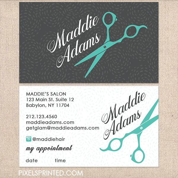 Best 25+ Hairstylist business cards ideas on Pinterest