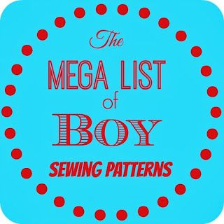 Boy Sewing Patterns