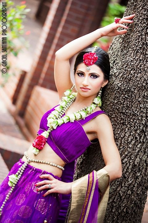 Ivory and red rose floral Indian bridal jewelry by tAnirika  via IndianWeddingSite.com