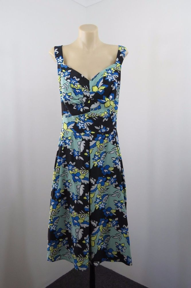 BNWT Plus Sz 4XL 22 Ladies Floral Dress Retro Pinup Vintage Rockabilly Design #Piper #Sundress #Casual