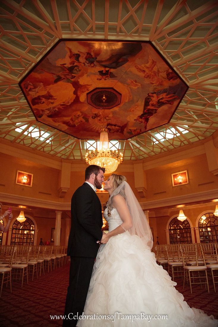The Four Seasons Ballroom at the Safety Harbor Spa shot by Clearwater Photographer , Neil with Celebrations of Tampa Bay http://celebrationsoftampabay.com/photographers-clearwater/