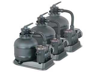 Groupe de filtration SAND FILTER 6m³/h 0.33cv avec pre-filtre piscine hors-sol