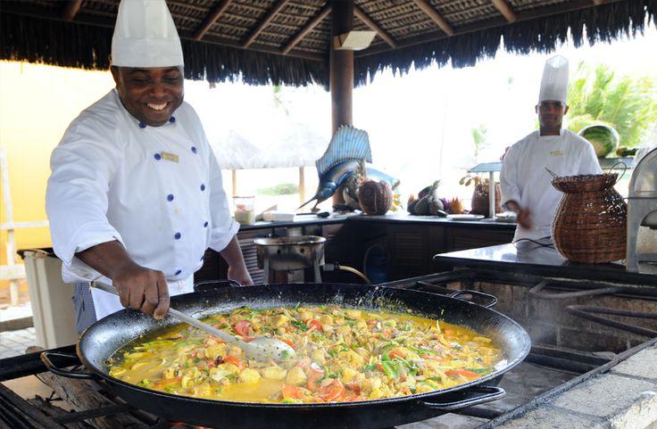 Uma culinária maravilhosa! Iberostar Bahia, Praia do Forte. #Viagem #Brasil