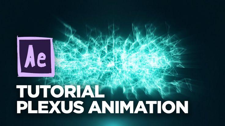 AFTER EFFECTS - Tutorial Plexus Animation On Beat