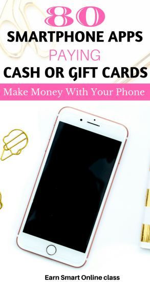 Smartphone Apps That Pay Cash: Are you searching for money-making apps? Here is a list of 80+ Smartphone apps that pay cash or Amazon gift cards. Quick and easy way to earn extra income from home!