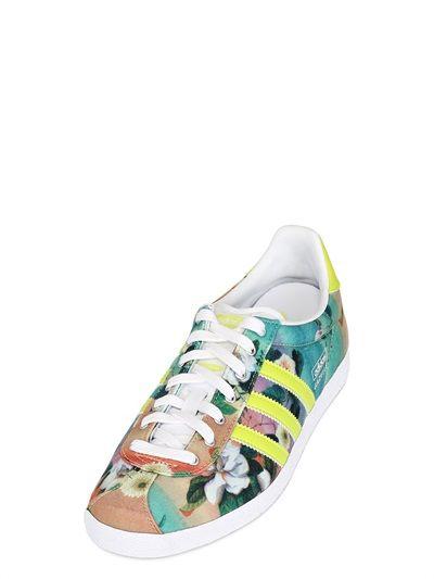 Adidas Gazelle Floral Print