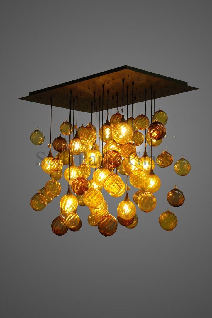 seth parks inspirational lighting designs. Seth Parks Inspirational Lighting Designs. Glass Hand-blown Chandeliers Designs Y
