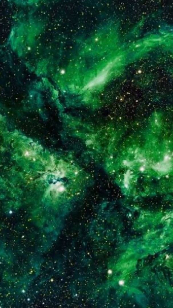 Green Galaxy Motion Galaxy Green Motion In 2020 Galaxy Painting Galaxy Wallpaper Iphone Wallpaper Green