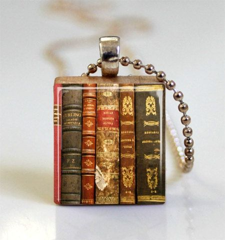 Hey, I found this really awesome Etsy listing at https://www.etsy.com/listing/96037997/old-books-scrabble-tile-pendant-ball