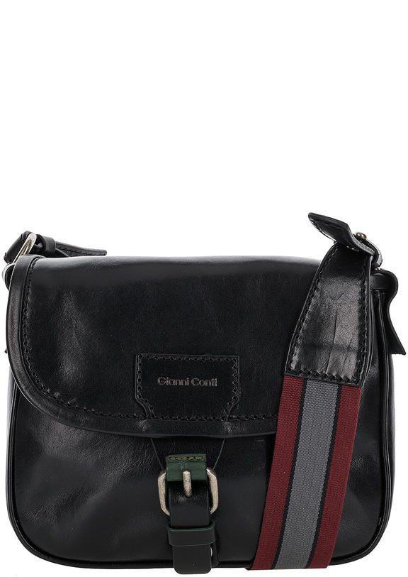 927ba0791bcd Маленькая кожаная сумка с широким плечевым ремнем 9423140 black ...