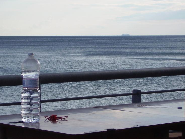 mare in bottiglia