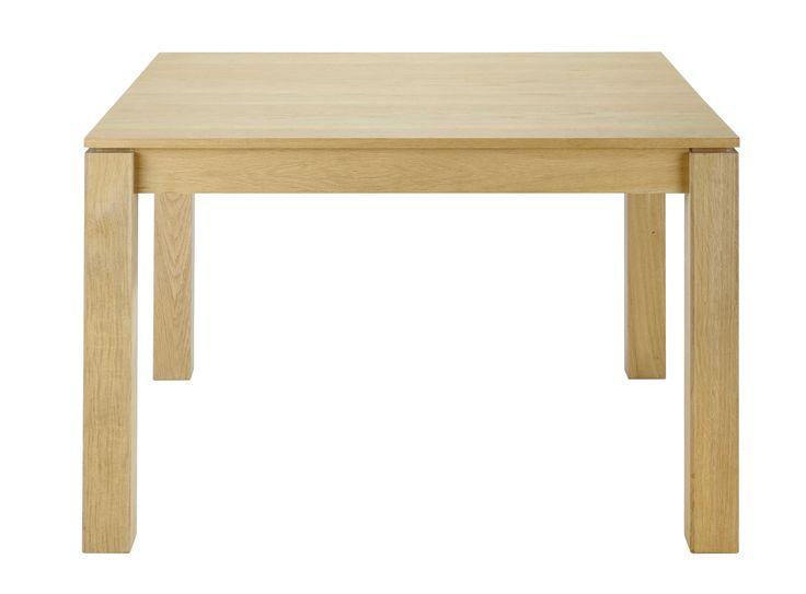 17 meilleures id es propos de table carr e avec rallonge sur pinterest ta - Table salle a manger carre ...