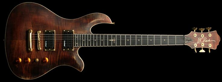 B.C. Rich Eagle Archtop Electric Guitar Antique Violin Satin | The Music Zoo