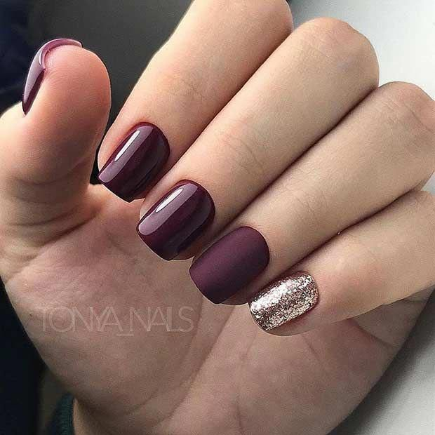 Selligiri An Advanced Website For Free Classifieds Services Separately Configured For Every Count Maroon Nail Designs Matte Maroon Nails Matte Nails Design