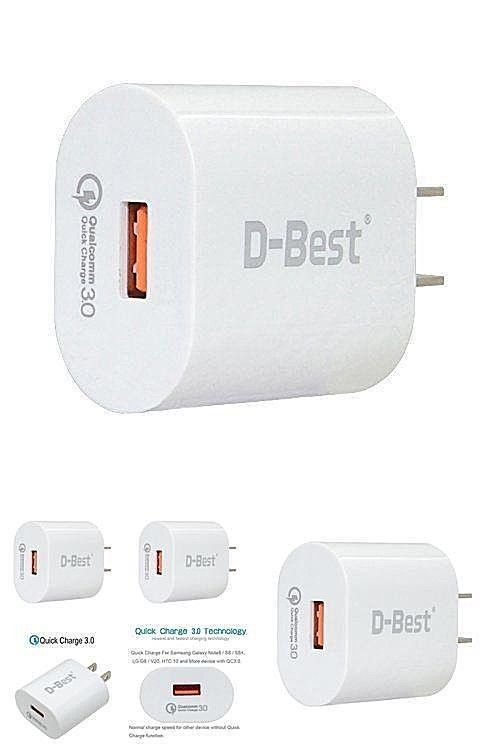 4 Times Faster Portable Standard Quick Charge Iphone X Usb 3.0 Wall Charger-8W #DealsToday