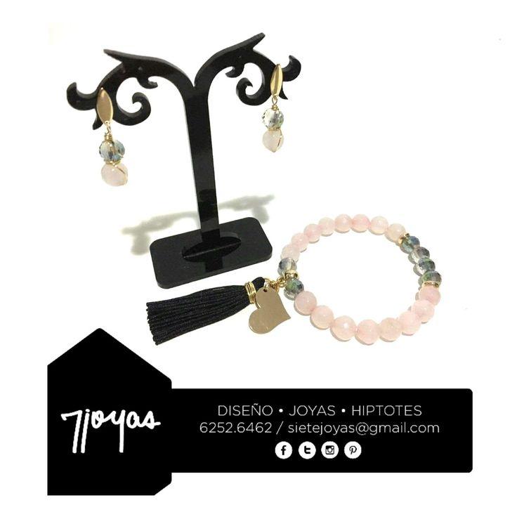 Agua Tranquila corre profunda 💎Amor en Rosa, Botánica Urbana.❤️ #7joyas #utopiabohemia #botanicaurbana #jewerly #statementbracelet #statementjewelry #fashionblogger  #handmadejewelry #madeinpanamá #jewerlydesign #bijouxcreateur #bijoux #cuarzorosa #braceletes #pulseras #accesorios  #accesorios507 #tasseljewelry #fashionblogger #moda  #fashion #boho