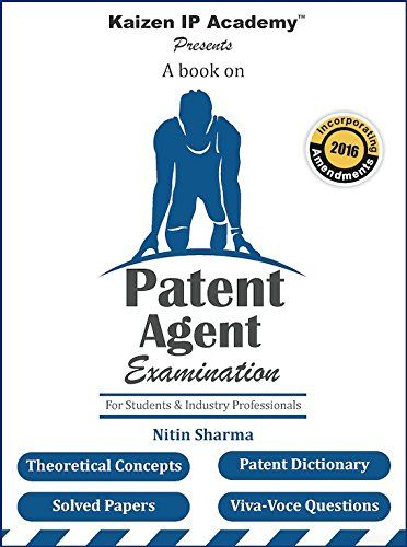 Patent Agent Examination (Updated The Patents (Amendment) Act, 2016) Check more at http://www.indian-shopping.in/product/patent-agent-examination-updated-the-patents-amendment-act-2016/