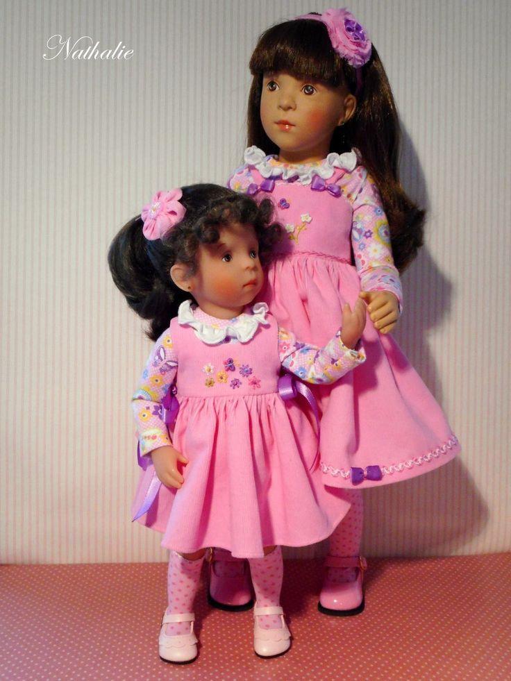 Tenue pour poupée Minouche de Sylvia Natterer | eBay