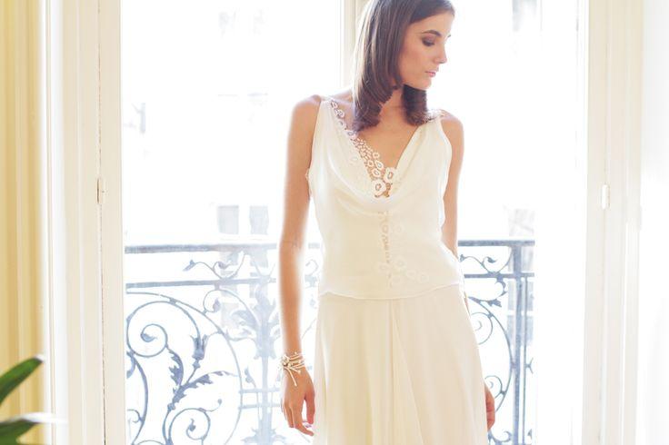 AMARILDINE Paris for REMBO STYLING WEDDING DRESSES Find it in Barcelona at LA NUVIA PIM PAM