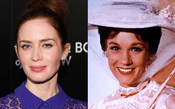 FROM EW: Emily Blunt in Talks for Mary Poppins Sequel at Disney