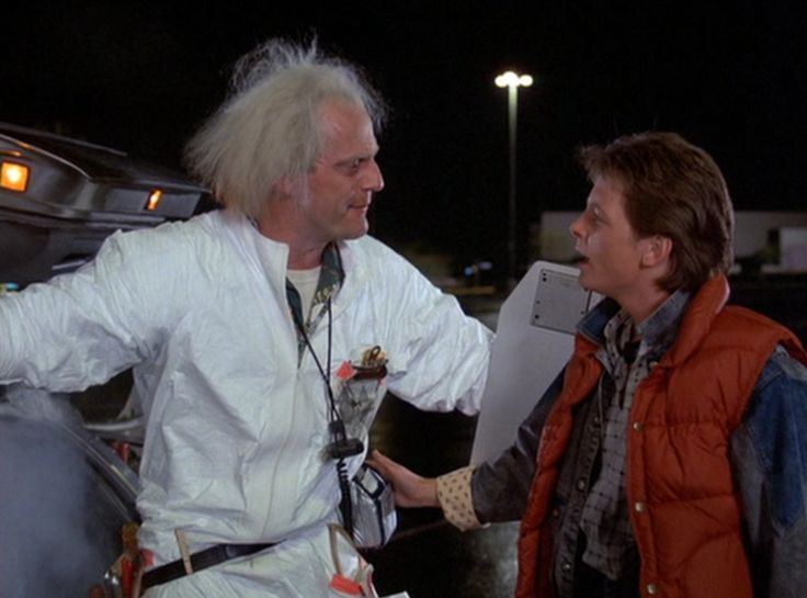 """""""Welcome to my latest experiment. This is the big one, the one I've been waiting for all my  life."""" - Doc Brown, Back to the Future"""