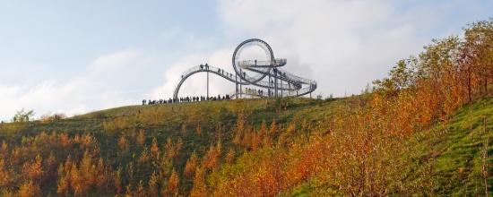 Tiger & Turtle - L'opera progettata come un rollercoaster