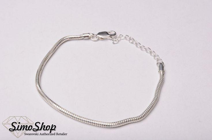 Brățară tip pandora din argint 925i #simoshop #bijuterii #accesorii #argint #swarovskicrystals #swarovski