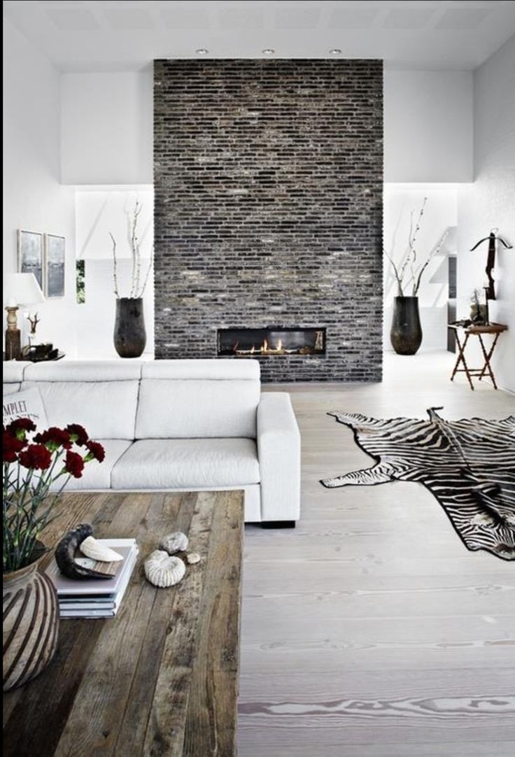 111 best images about brick feature walls on pinterest interior brick walls luxuryfurniture - Feature wall ideas living room with fireplace ...
