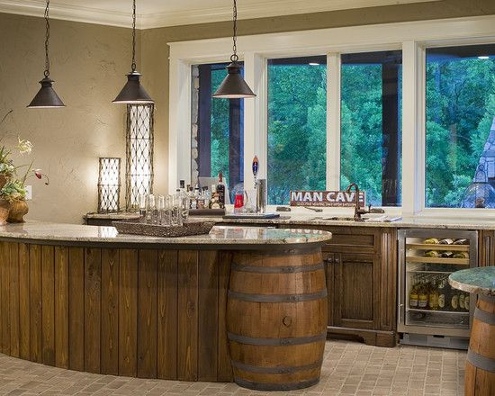 Wine Barrels Design, Pictures, Remodel, Decor and Ideas