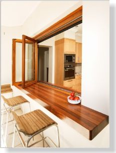 Servery windows. Clipped from Your Garden using Netpage.