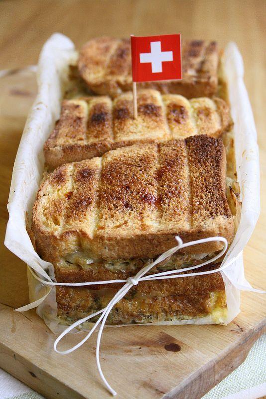 Sformato di verza, pane ed Emmentaler DOP  // Savoy cabbage and Emmental bread pudding