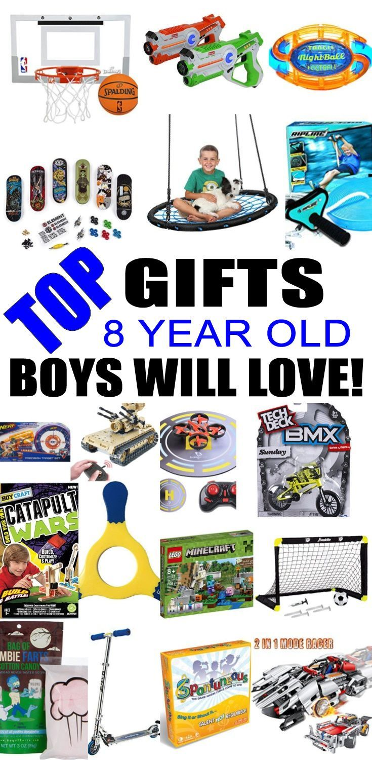 Top Gifts For 8 Year Old Boys Best Gift Suggestions Presents Eighth Birthday Or Christmas Find The Toys A 8th Bday
