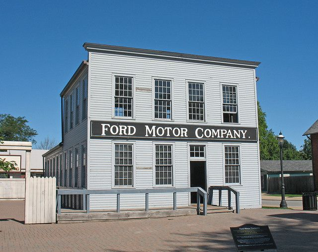 Ford Motor Company's Original Building, Greenfield Village, Dearborn, MI