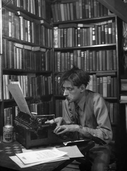 Robert Bloch (1959) author of Psycho and so many more creepy tales...