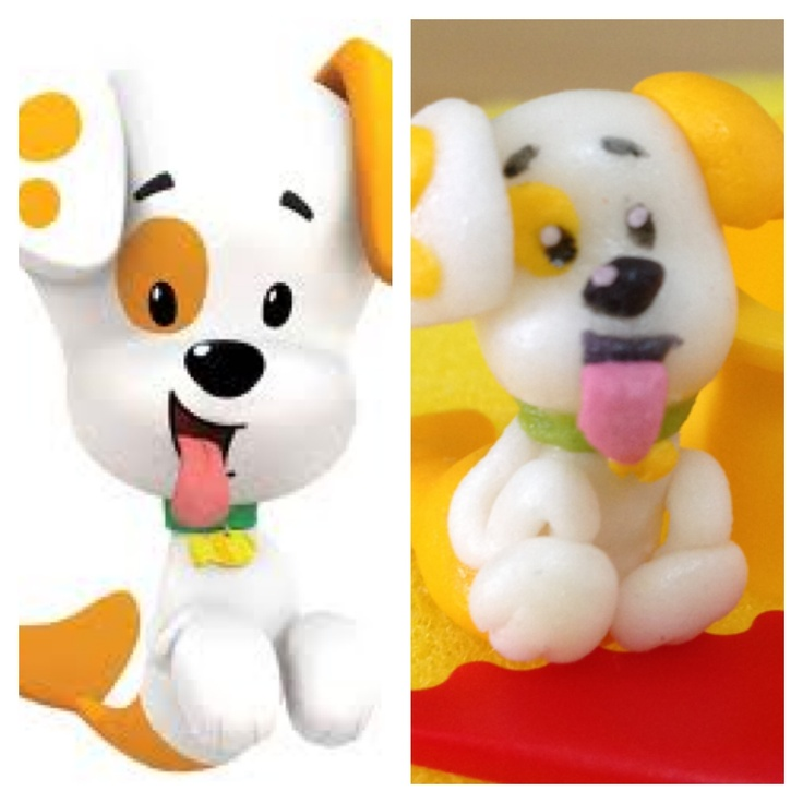 Fondant Bubble Puppy from Bubble Guppies