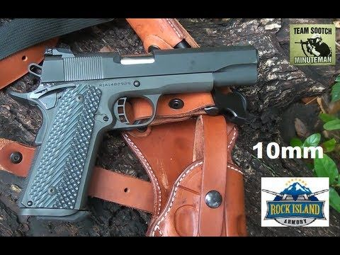▶ Rock Island Armory 1911 Tactical FS II 10mm Pistol - YouTube