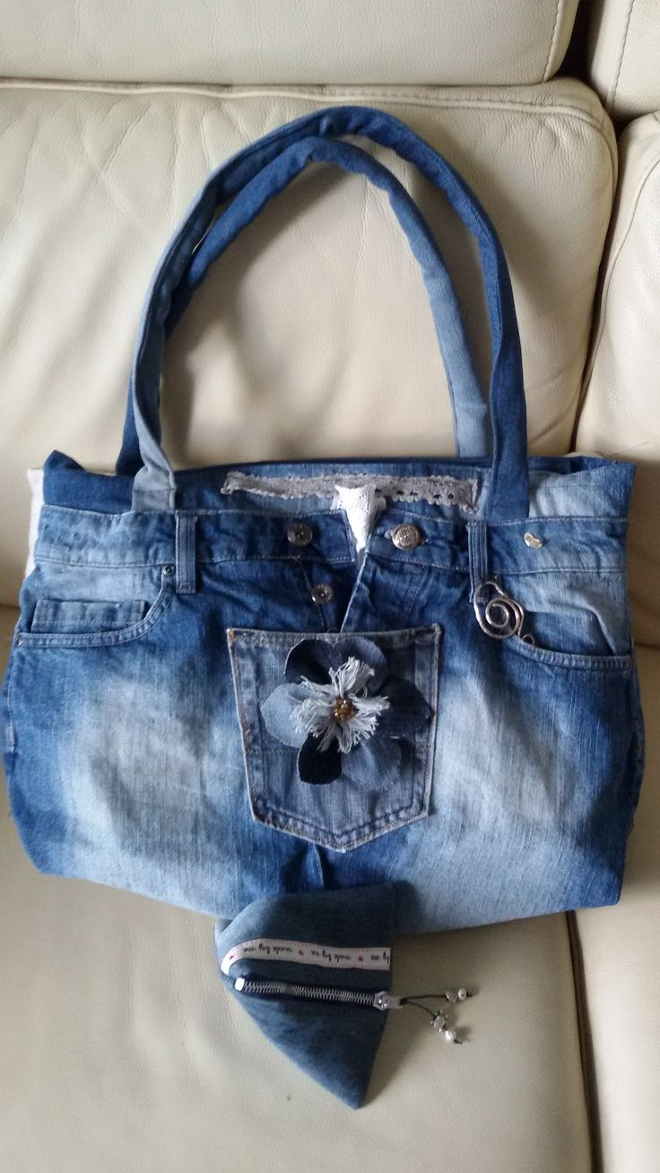 A jeans Bag for my friend