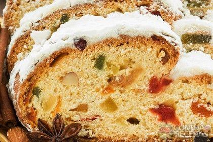 Receita de Rosca de frutas cristalizadas em receitas de paes e lanches, veja essa e outras receitas aqui!