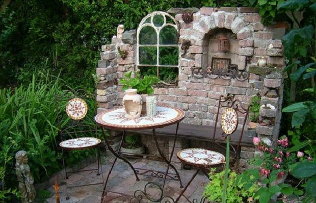 11 best Garten images on Pinterest Decks, Backyard ideas and - steinmauer im garten