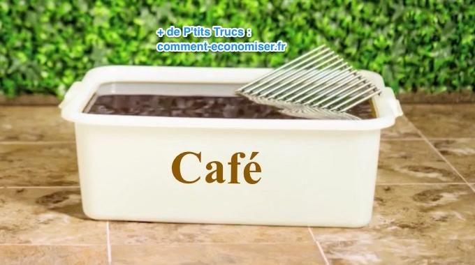 Et bien, il existe une astuce rapide pour nettoyer la grille sans efforts. L'astuce est de faire tremper la grille de barbecue dans un bain de café. Regardez :-)  Découvrez l'astuce ici : http://www.comment-economiser.fr/comment-nettoyer-la-grille-du-barbecue-sans-frotter.html?utm_content=buffera0925&utm_medium=social&utm_source=pinterest.com&utm_campaign=buffer