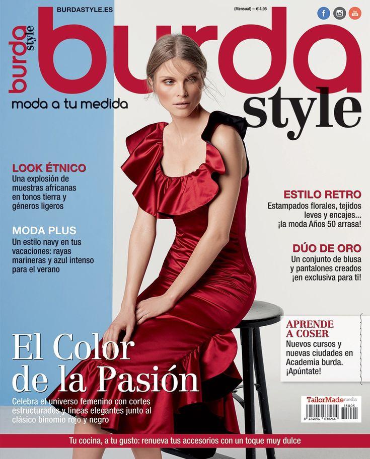 burda style Mayo 2015