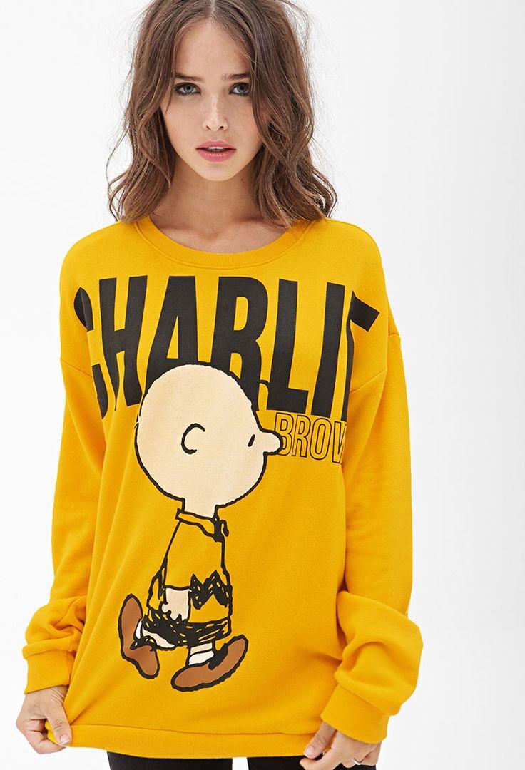 Charlie Brown Sweatshirt | FOREVER21