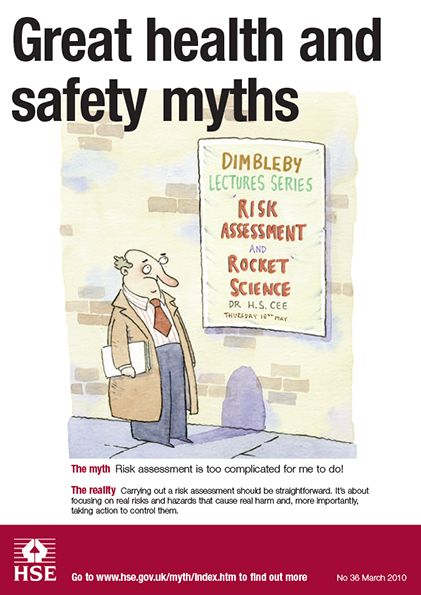 34 best Health and Safety Myths images on Pinterest Leadership - health safety risk assessment