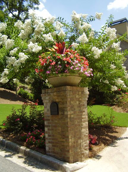 Landscaping for our mailbox...this would look awesome!