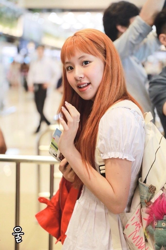 Orange Hair You Do It Girl