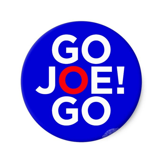 Joe Biden for President 2020 Go Joe Go! Classic Round Sticker Custom Spooky  Halloween Stickers #halloween #Custom #dec… | Stickers custom, Custom  stickers, Stickers