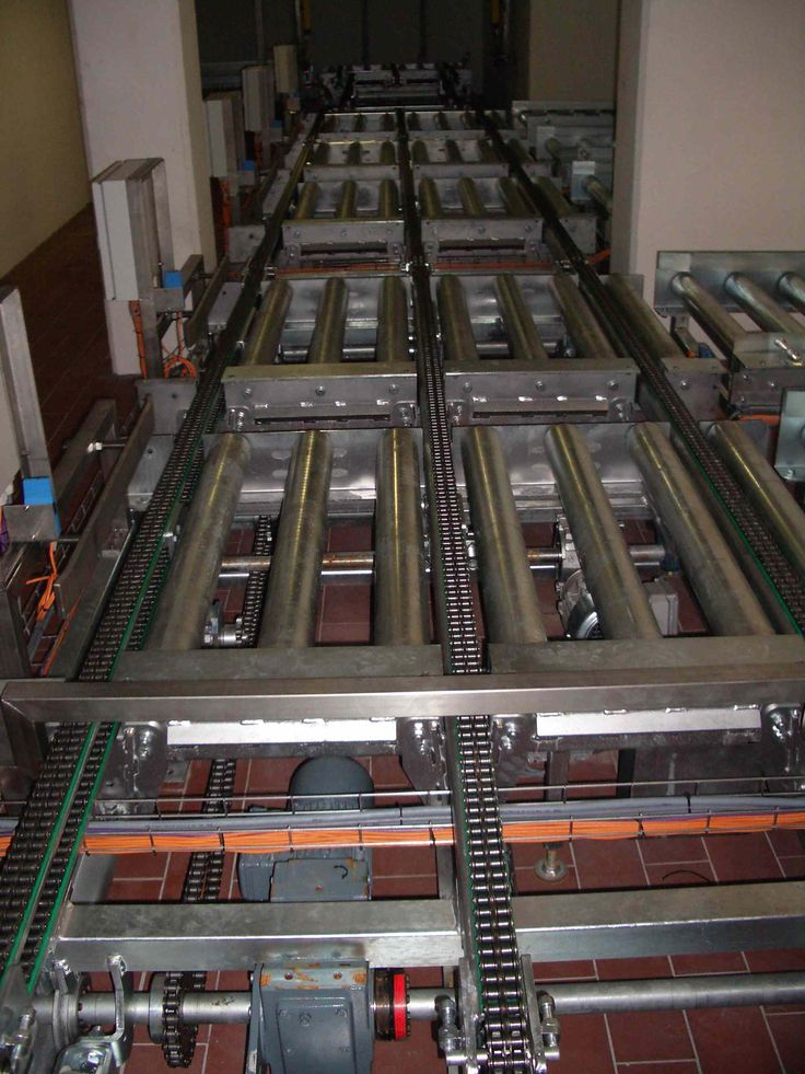Chain conveyor // Řetězový dopravník