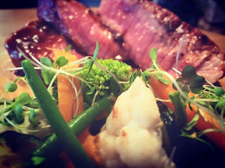 Sirloin  steak with Veggies
