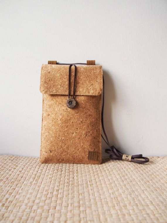 Paralife Custom Size Cork Baguette / Cross Body Bag / by Paralife